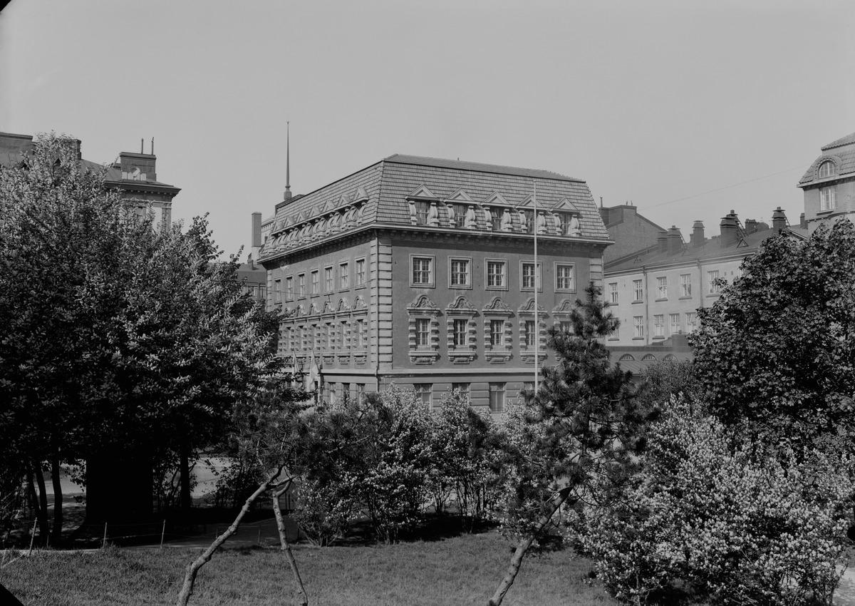 Merimiehenkatu 11. Ruotsalainen Kauppakorkeakoulu, Svenska Handelshögskolan (Hanken) | Helsingin ...
