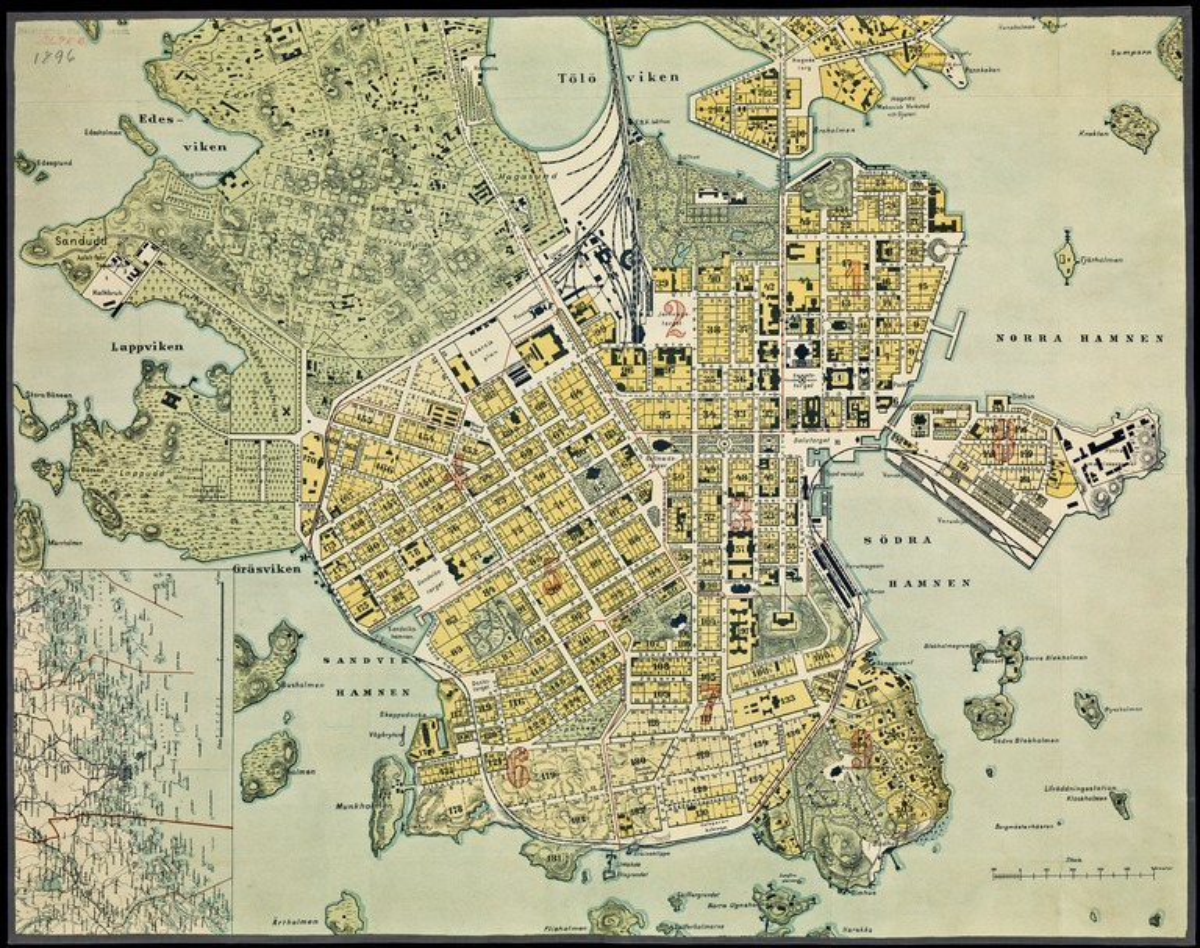 Helsingin Nähtävyydet Kartta